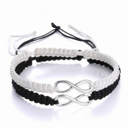 2pcs Infinity Love Couples Bracelet..