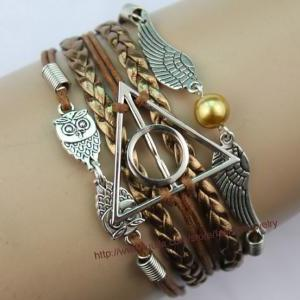 Harry Potter Deathly Hallow Bracele..