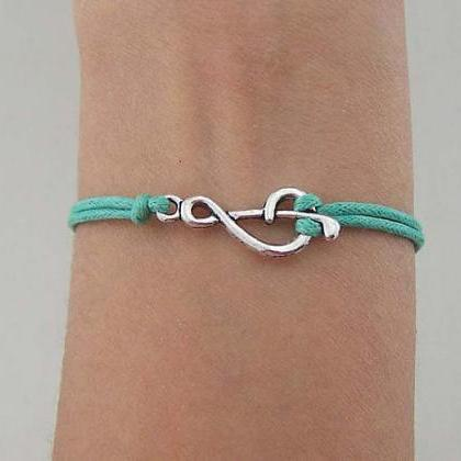 Music Note Friendship Bracelet with..