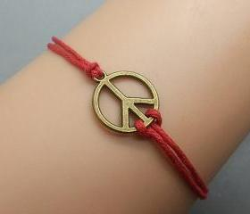 2pcs Bronze Peace Sy..