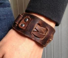 Men's Brown Leather ..