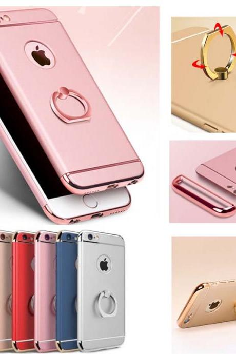 Fashion Mobile Phone Case Cover for iPhone XS MAX XR XS X 8 7 6 6S Plus 5 5s ring holder stand armor case