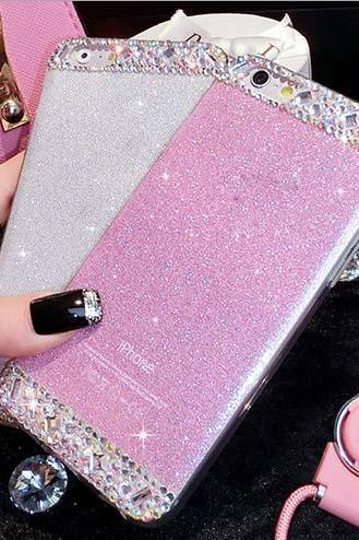 Luxury Glitter Case Cover For iPhone 5 5S SE 6 6S Plus ( 4 colors)