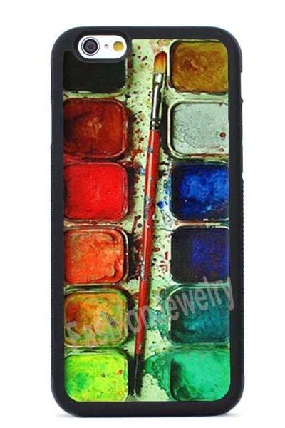 Watercolor Palette Design- iPhone XS MAX, iPhone XR, iPhone XS, iPhone X, iPhone 8 8lus iPhone 7 case,iPhone 7 Plus case,iPhone 6/6s Plus case,iPhone 5 5s se case& Samsung Galaxy Case Cover
