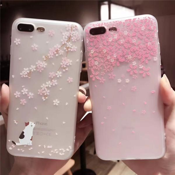 For iPhone 12 Pro Case Flower Case For iPhone 12 Mini 11 Pro Max 8 7 Plus X XS Max XR  Soft TPU Bumper Cover