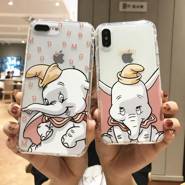 For iPhone 12 Pro Case Elephant Phone Case For iPhone 12 Mini 11 Pro Max 8 7 Plus X XS Max XR Soft TPU Bumper Cover